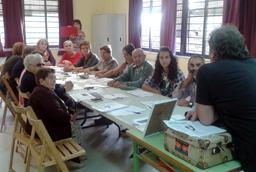 El municipio de Monleras acoge el primer taller literario de la iniciativa 'Provincia creativa' impulsada por la Universidad y Diputación de Salamanca