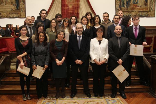 Entrega de los Premios Extraordinarios de Grado de Salamanca