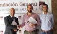 El vicerrector de Investigación y Transferencia, Juan Manuel Corchado, inaugura en la Universidad la IX Reunión Española de Optoelectrónica (OPTOEL 2015)