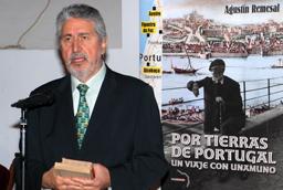El periodista Agustín Remesal presenta el libro 'Por tierras de Portugal. Un viaje con Unamuno'