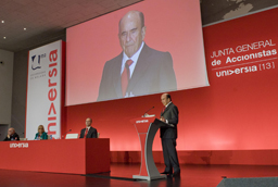 Emilio Botín anuncia 10.000 nuevas Becas Santander de Prácticas en PYMEs para universitarios españoles en 2014 y 2015