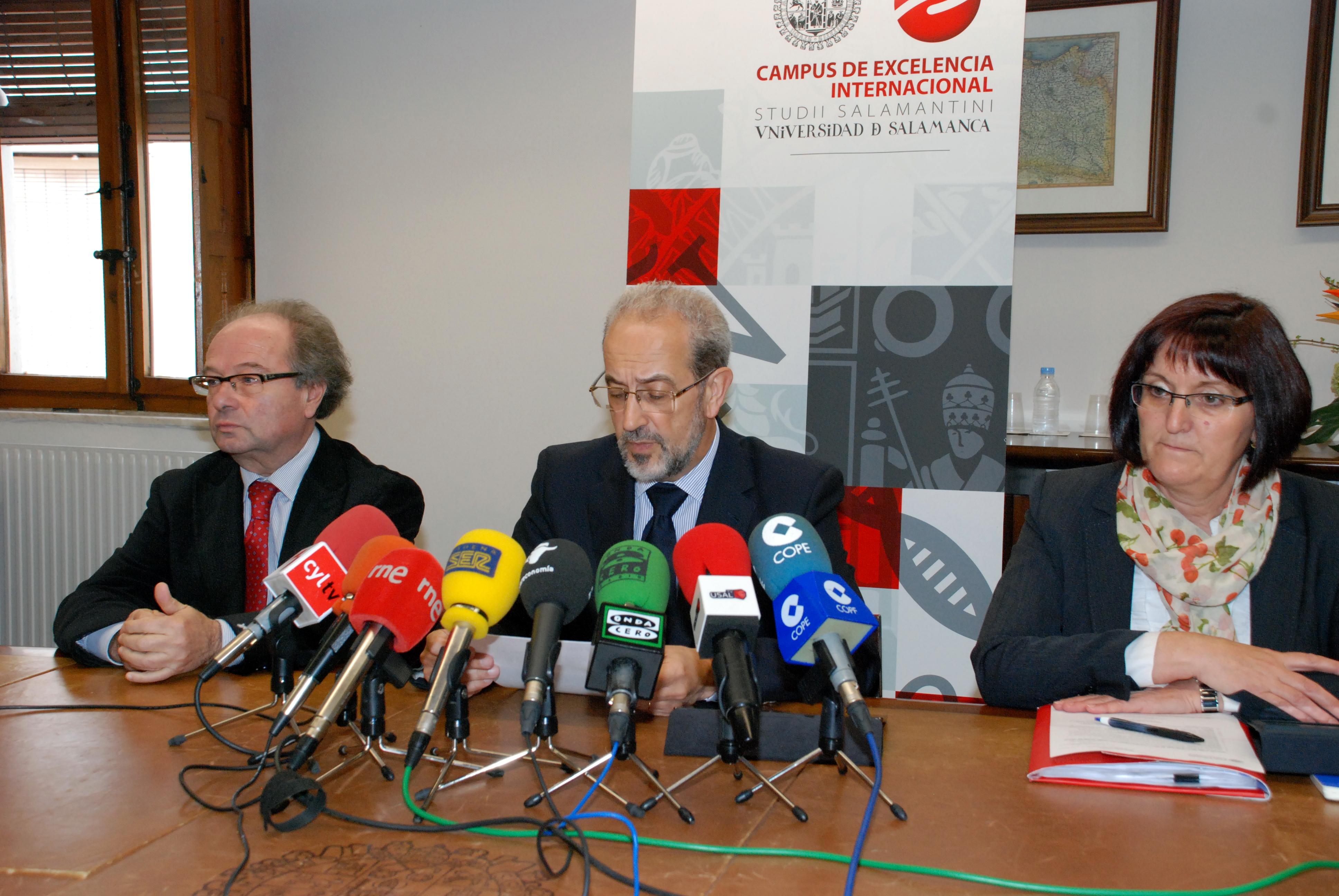 La Universidad de Salamanca pondrá en marcha un Plan de Apoyo, Impulso y Desarrollo de la Excelencia Internacional