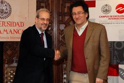 La Universidad de Salamanca y la Sociedad Argentina de Análisis Político de Argentina suscriben un convenio de colaboración