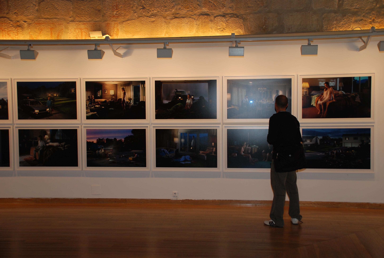 Inauguración de la exposición 'América ocaso'
