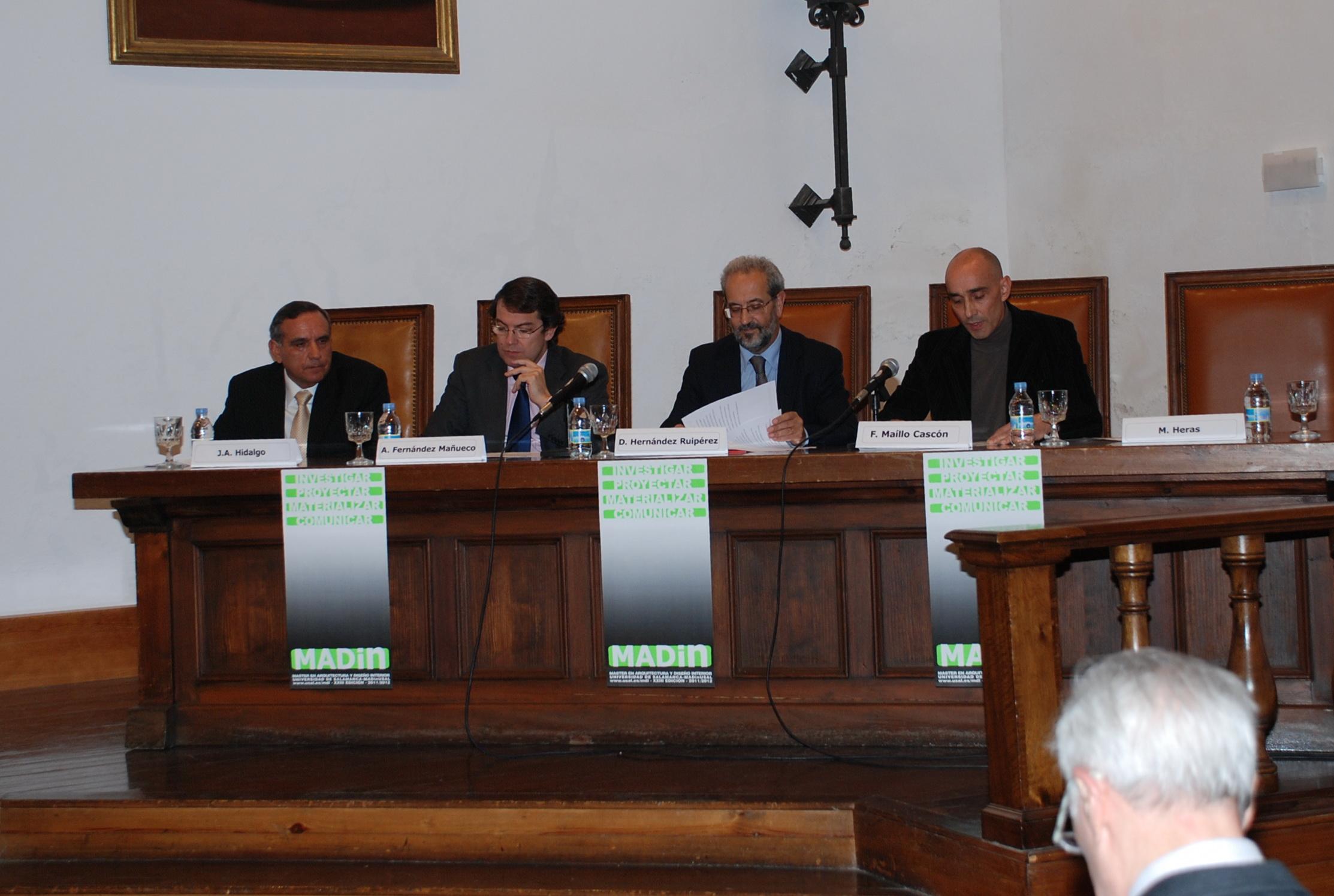 Inauguración del Máster de Arquitectura y Diseño de Interiores de la Universidad de Salamanca (MADin Usal)