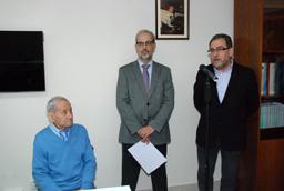 El rector asiste a la inauguración de los actos conmemorativos del 50º aniversario del Departamento de Geografía