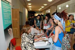 Amplia respuesta de los estudiantes a la 1ª Feria de Posgrado de la Universidad de Salamanca