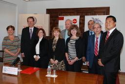 El rector defiende el Plan Estratégico de la Universidad de Salamanca como un proyecto 'global, integrador, realista y esencial' para afrontar los retos del futuro