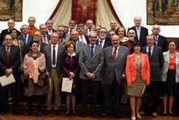 La Universidad de Salamanca rinde homenaje a sus profesores jubilados