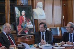 Viaje del rector al Encuentro de Responsables de Educación Superior de Rusia y España