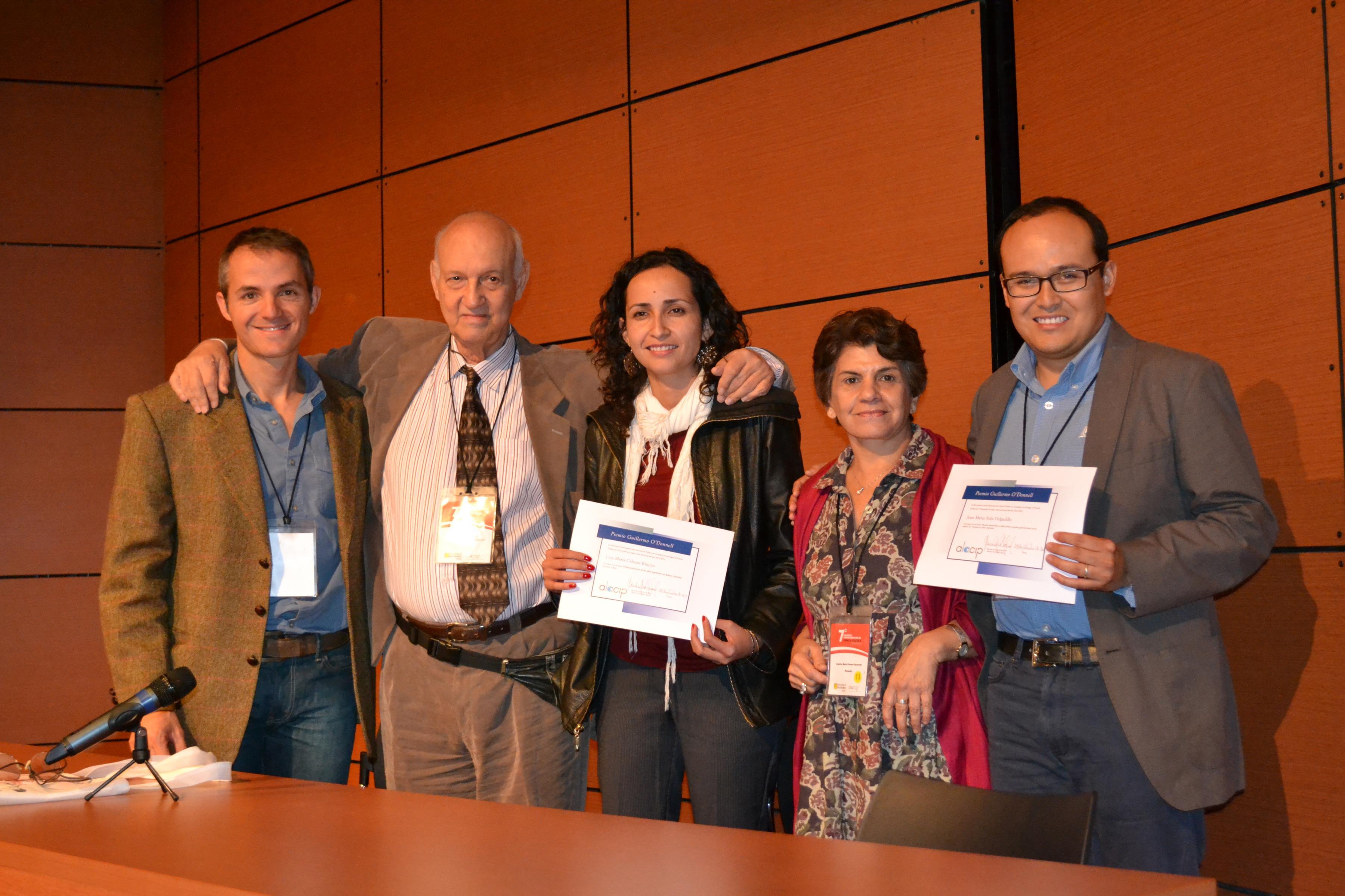 Dos estudiantes del Instituto de Iberoamérica reciben el premio a la mejor tesis doctoral de ALACIP
