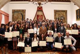 Entrega de los Premios Extraordinarios de Grado y de Grado de Salamanca - 2015