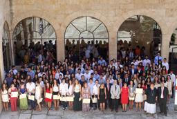 Un total de 165 jóvenes reciben los Premios Acceso 2015 a los mejores estudiantes de Selectividad en la convocatoria de junio