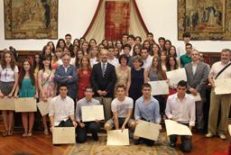 119 estudiantes reciben los Premios de Acceso 2013 de la Universidad de Salamanca
