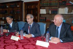 Rueda de prensa: Presentación de conclusiones de la reunión de Rectores de Universidades de Japón y España