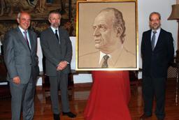 La Universidad de Salamanca suma a su Galería Real el retrato del Rey Don Juan Carlos I