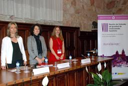 La vicerrectora de Atención al Estudiante y Extensión Universitaria, Cristina Pita, inaugura el XXI Congreso de Cardiología de Estudiantes