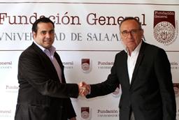 La Universidad de Salamanca y el Ayuntamiento de San Esteban  de la Sierra firman un convenio de colaboración