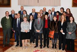 Las Escuelas Mayores acogen el acto de toma de posesión de cargos académicos y del personal docente e investigador de la Universidad