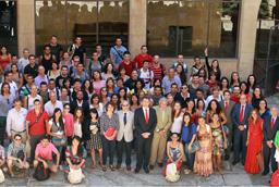 La Facultad de Bellas Artes exhibe una exposición sobre escenografía