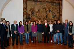 El rector recibe al ministro de Relaciones Exteriores de Bolivia