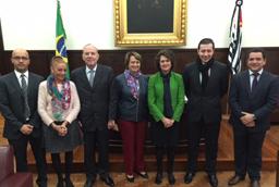 La Universidad de Salamanca reforzará la colaboración académica con la Universidad de São Paulo