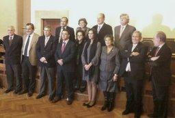 RNE, Televisión Castilla y León de Salamanca, la Filmoteca, la Denominación de Origen de Guijuelo e Isabel Jaschek reciben los Premios ASUS 2012
