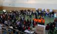 El rector y la vicerrectora de Estudiantes inauguran una nueva edición de la Feria de Bienvenida del Campus Viriato