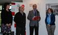 El rector inaugura la exposición fotográfica sobre los tres años de acciones de cooperación al desarrollo efectuadas por la Oficina de Cooperación de la Universidad