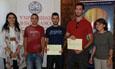 Entrega de los premios del Concurso Proyectos Emprendedores Universitarios