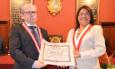 El catedrático Ángel García del Dujo, doctor honoris causa por la Universidad Nacional Mayor de San Marcos de Lima