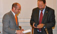 La Universidad de San Pablo-T inviste doctor honoris causa al catedrático de Derecho Civil de la Usal Eugenio Llamas Pombo