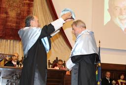 El rector reclama un gran espacio iberoamericano de educación superior en la ceremonia de investidura de Lula da Silva como doctor honoris causa