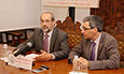 El rector, Daniel Hernández Ruipérez, informa sobre el borrador del decreto de ordenación de enseñanzas de grado y másteres de Castilla y León