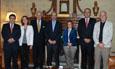 Visita del embajador de Chile