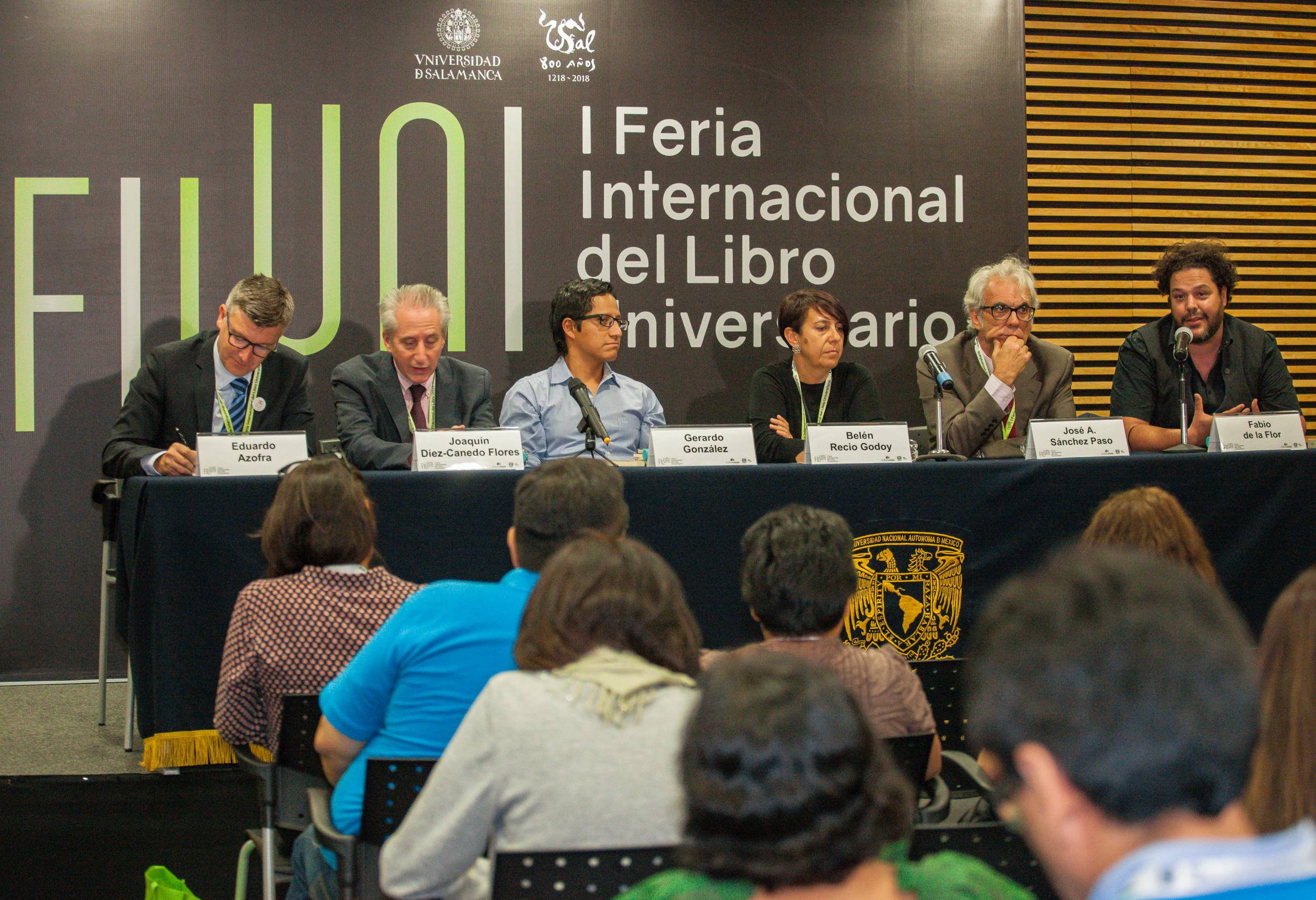 Mesa redonda en torno a la edición universitaria: editoriales universitarias e independientes