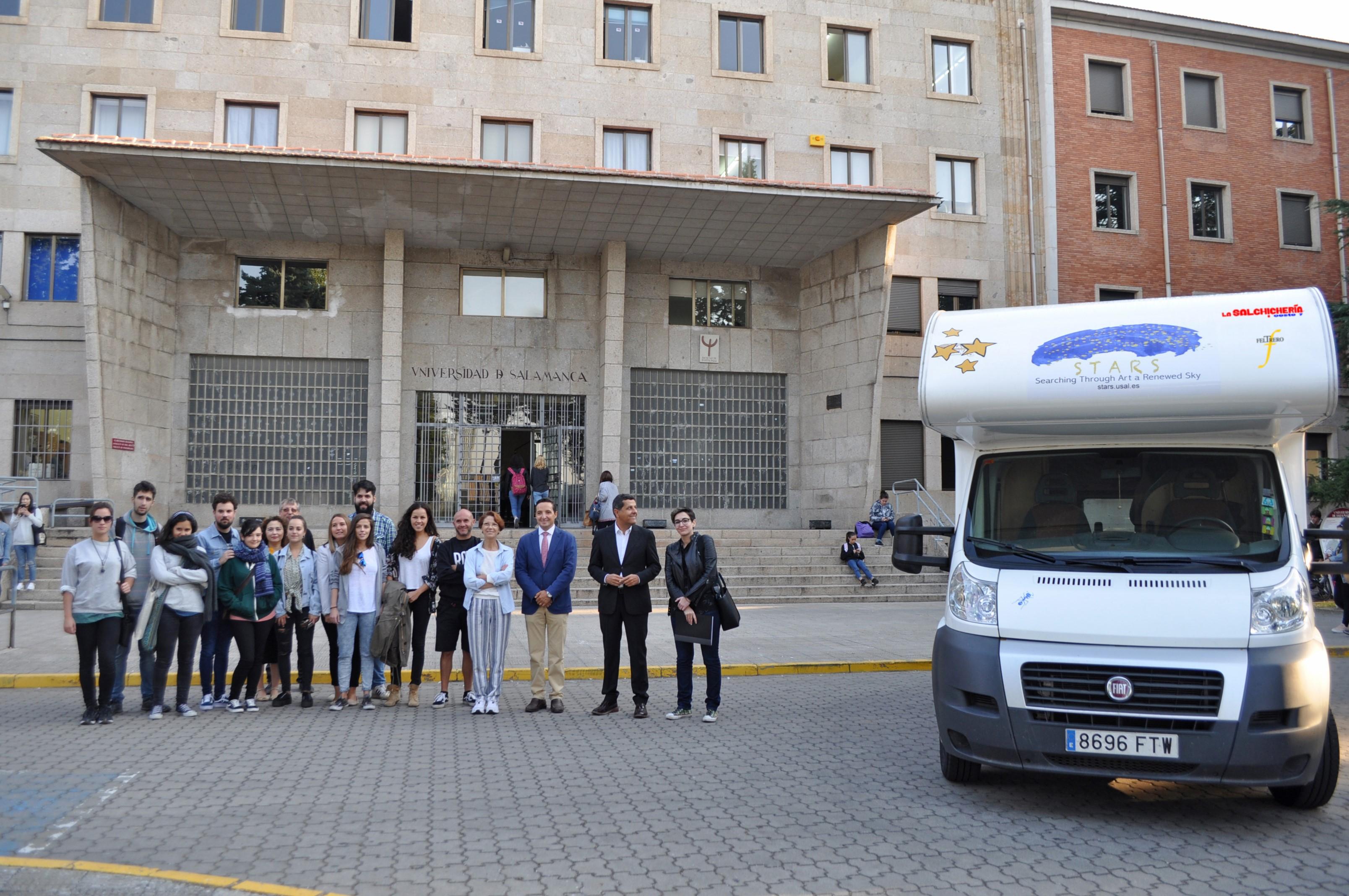 La Universidad de Salamanca proyecta crear un consorcio internacional entre universidades, empresas y asociaciones para implementar su oferta formativa en bellas artes