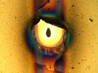 El micro ojo de Sauron