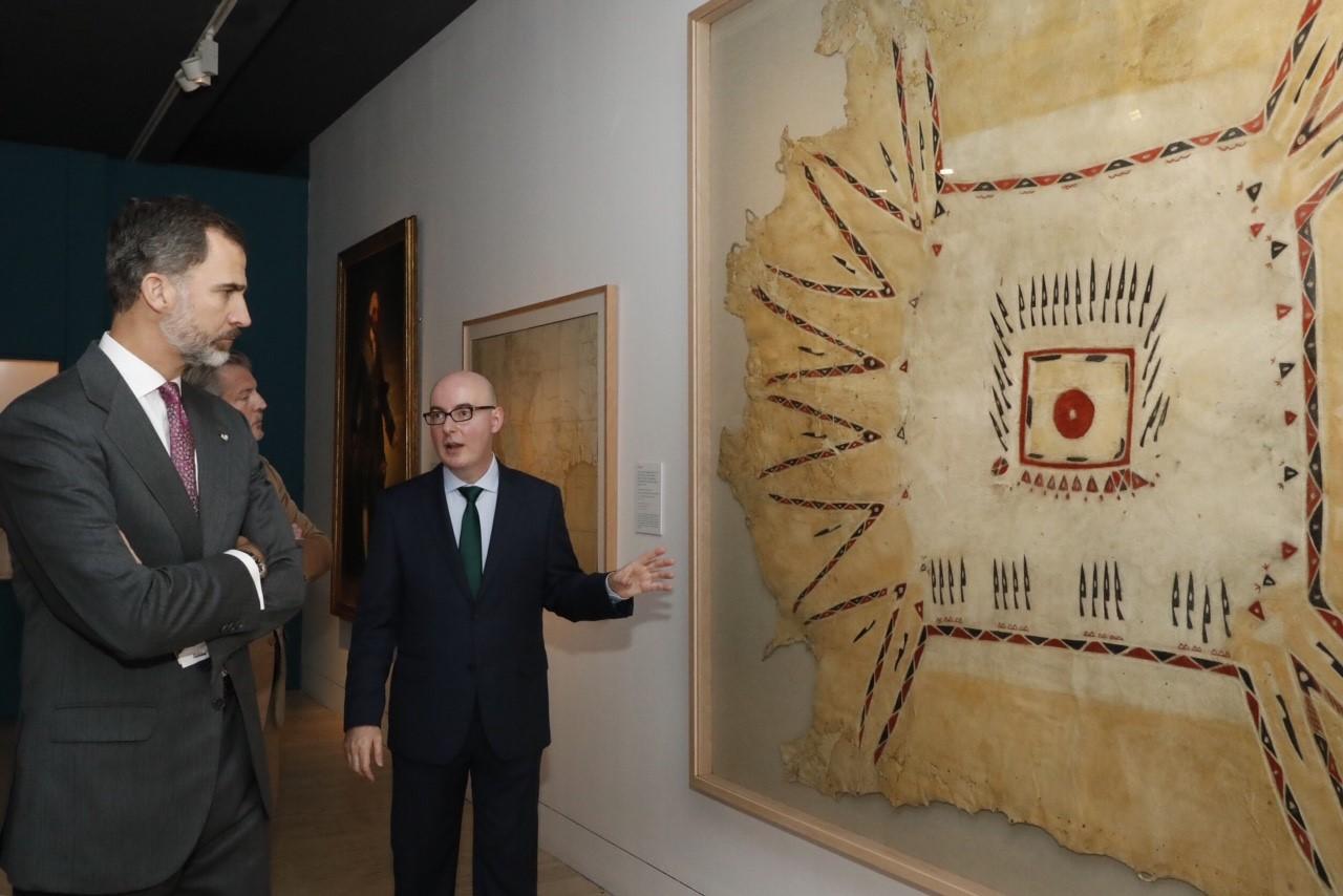 La Universidad de Salamanca cede un lienzo para la exposición 'Carlos III: proyección exterior y científica de un reinado ilustrado' del Museo Arqueológico Nacional