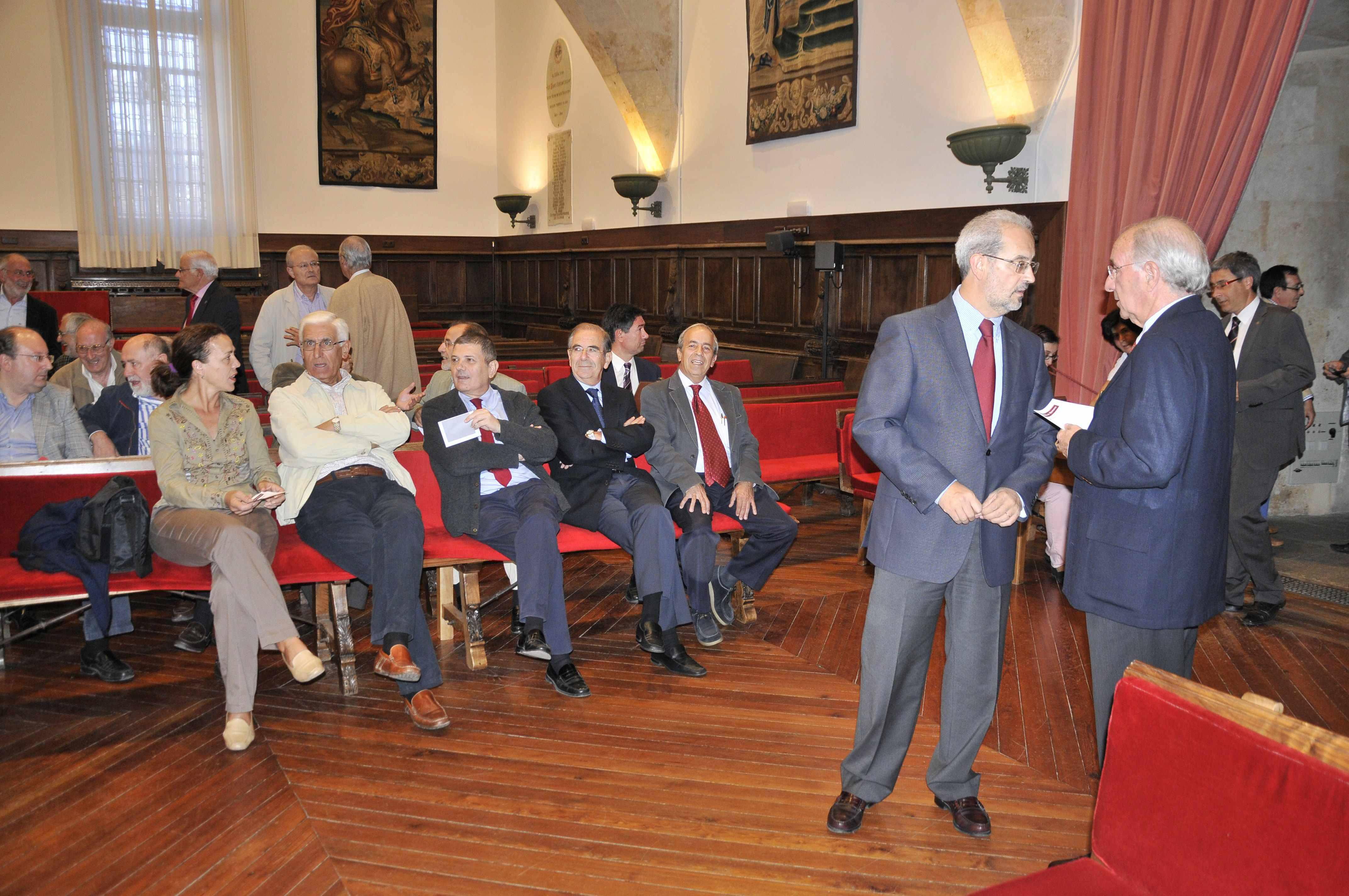 El Claustro de Doctores aprueba el nombramiento de Ignacio Sánchez Galán como doctor honoris causa