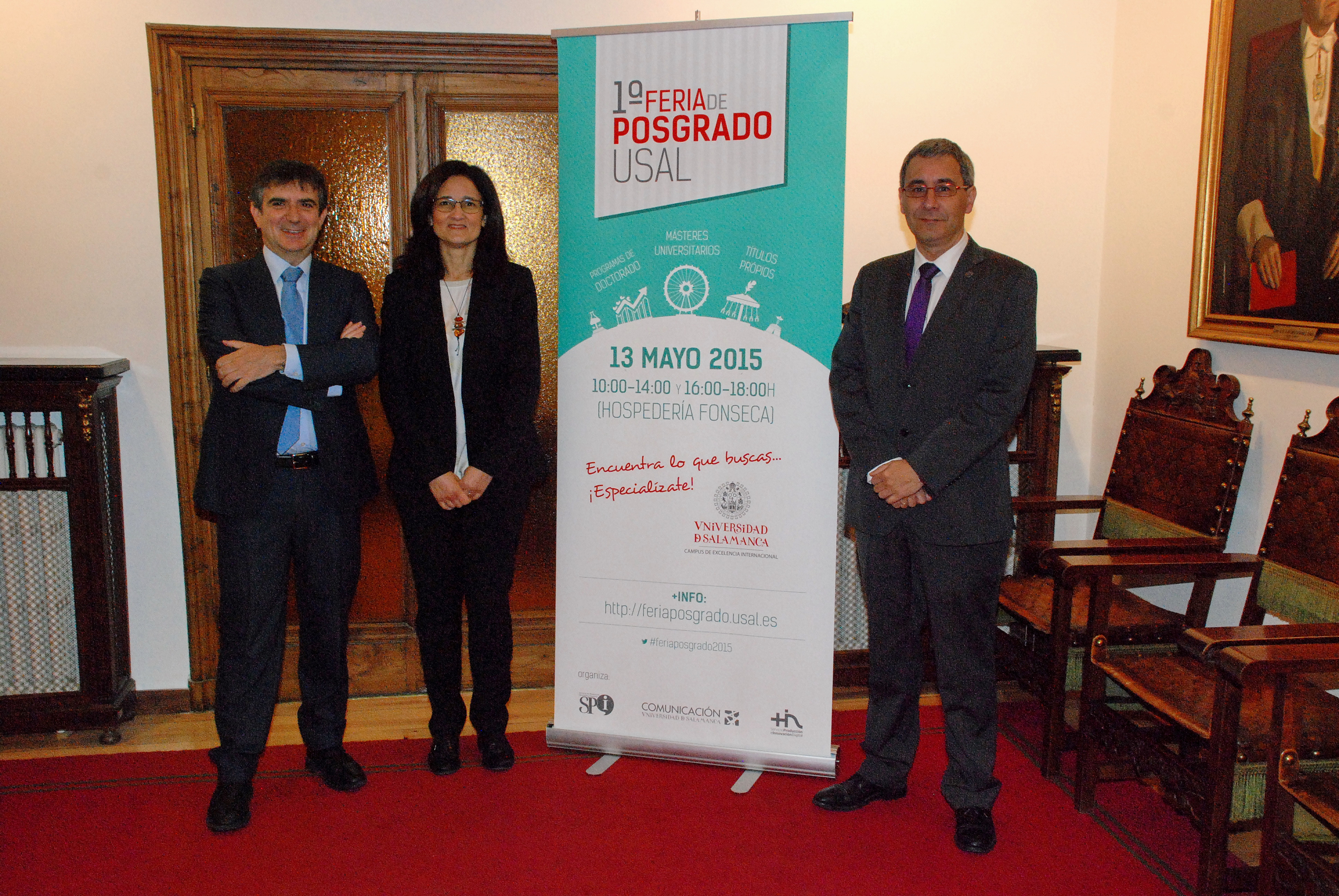 La Universidad de Salamanca da a conocer su amplia oferta de másteres universitarios, programas de doctorado y títulos propios en su primera Feria de Posgrado