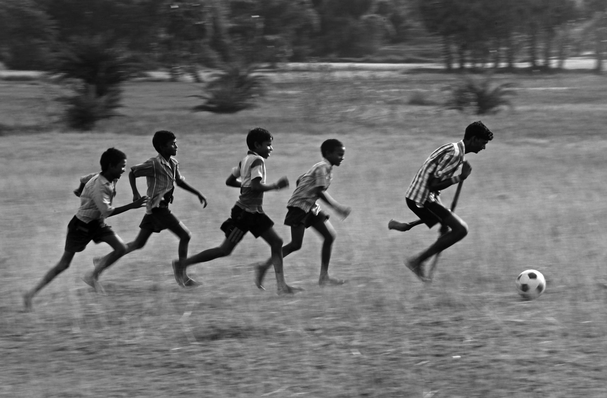 "2º Premio: ""Feet Ball"", de Somenath Mulkopadhyay"
