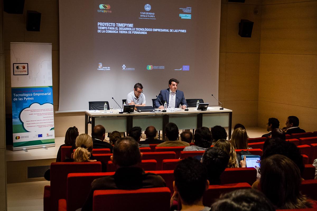 La Universidad de Salamanca presenta en el CITA el proyecto TimePyme sobre desarrollo de servicios digitales comunes para mejorar la competitividad de las PYMES de Tierra de Peñaranda