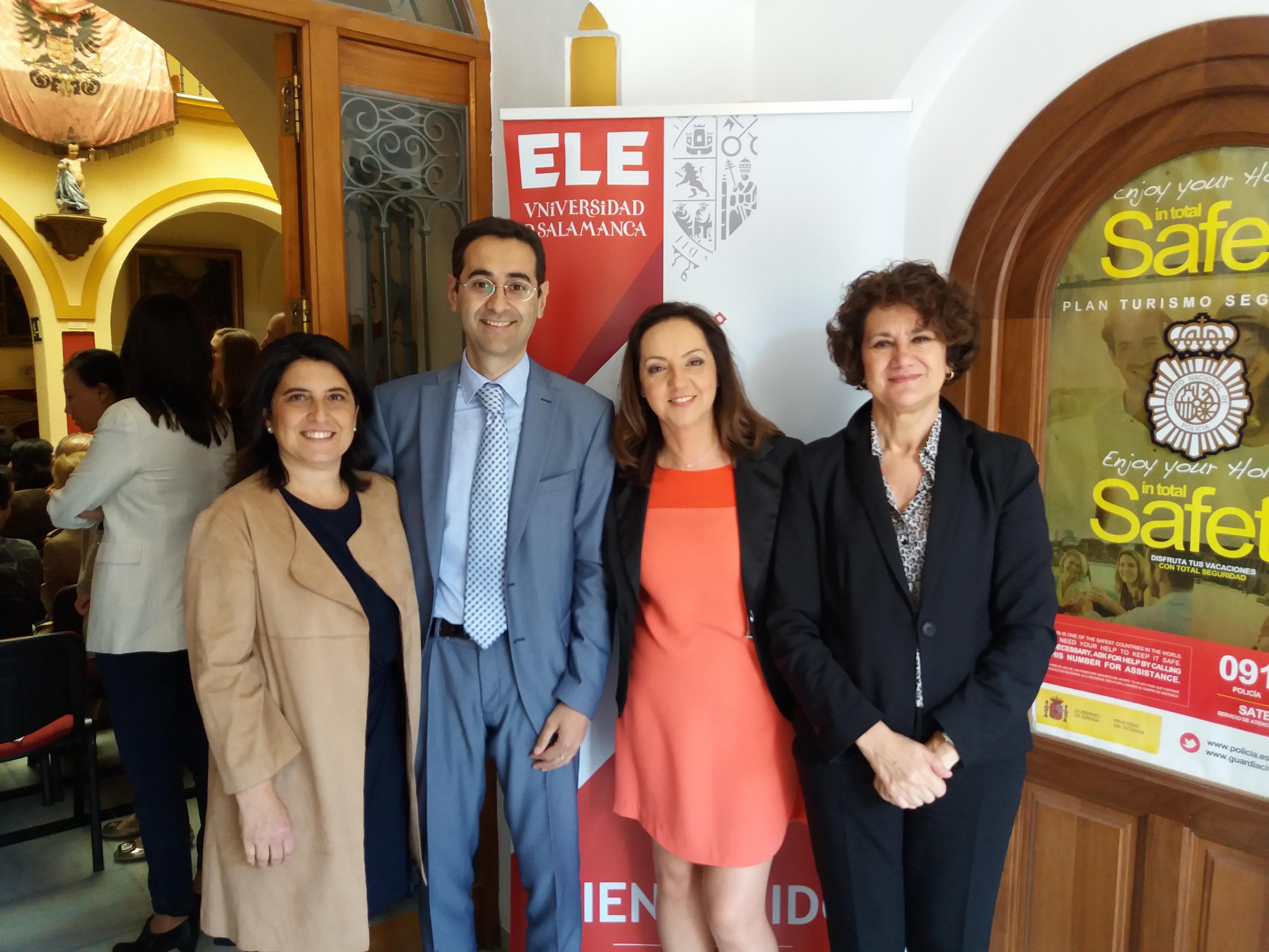 La Universidad de Salamanca inaugura su sexta Escuela de Lengua Española en Estepona