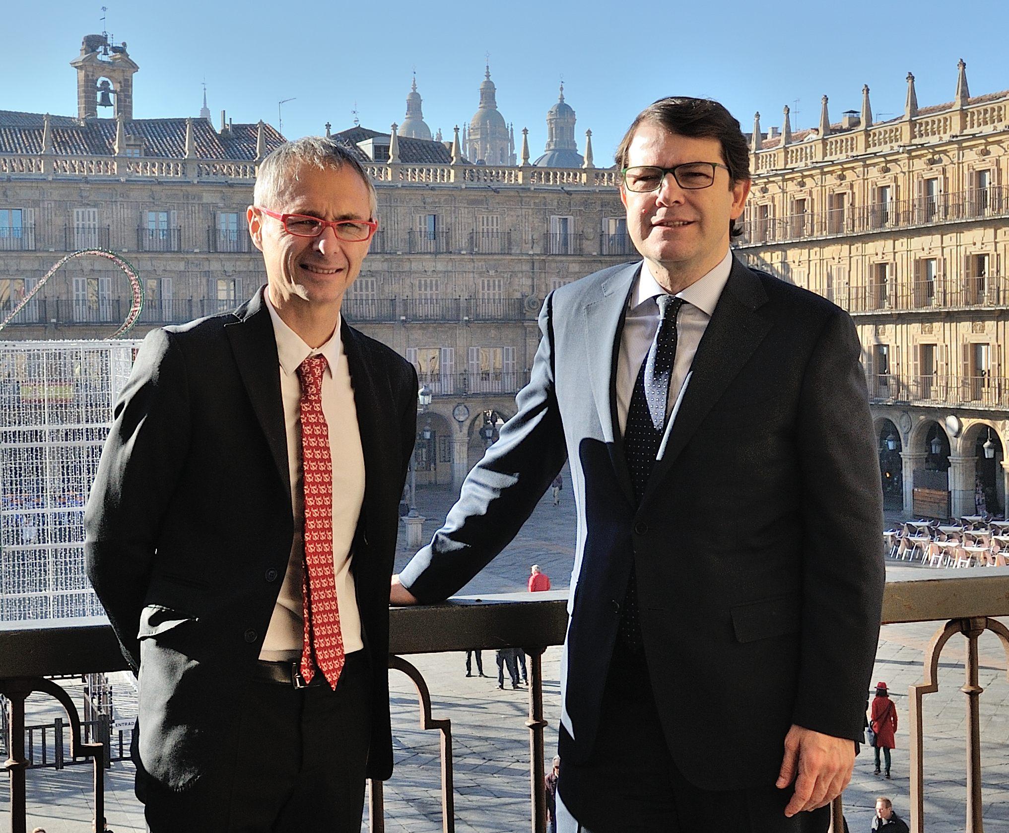 El Ayuntamiento y la Universidad de Salamanca acuerdan impulsar su colaboración en varias materias