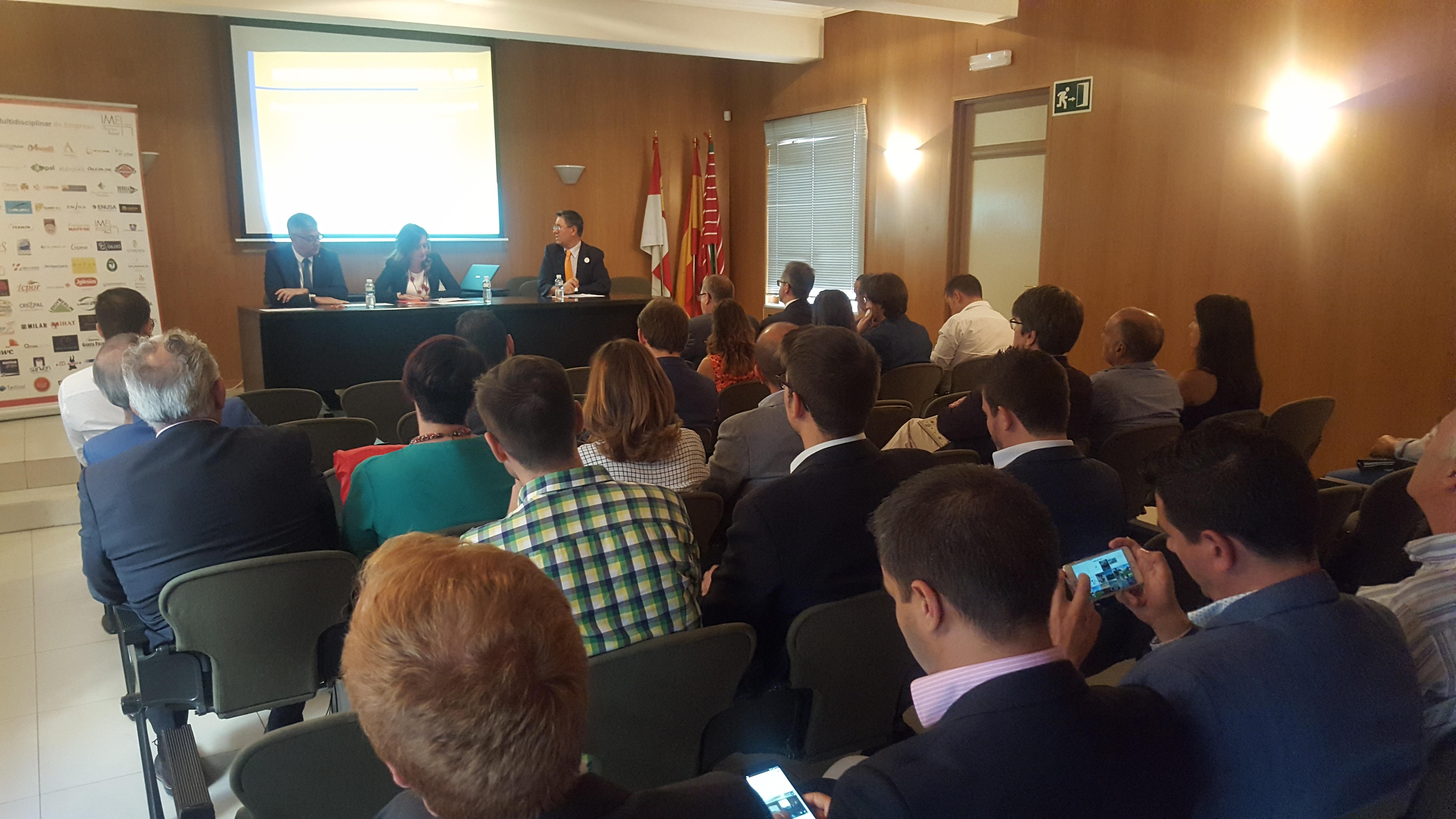 El Instituto Multidisciplinar de Empresa celebró en la Cámara de Comercio de Zamora el 'II Club Networking Empresarial'