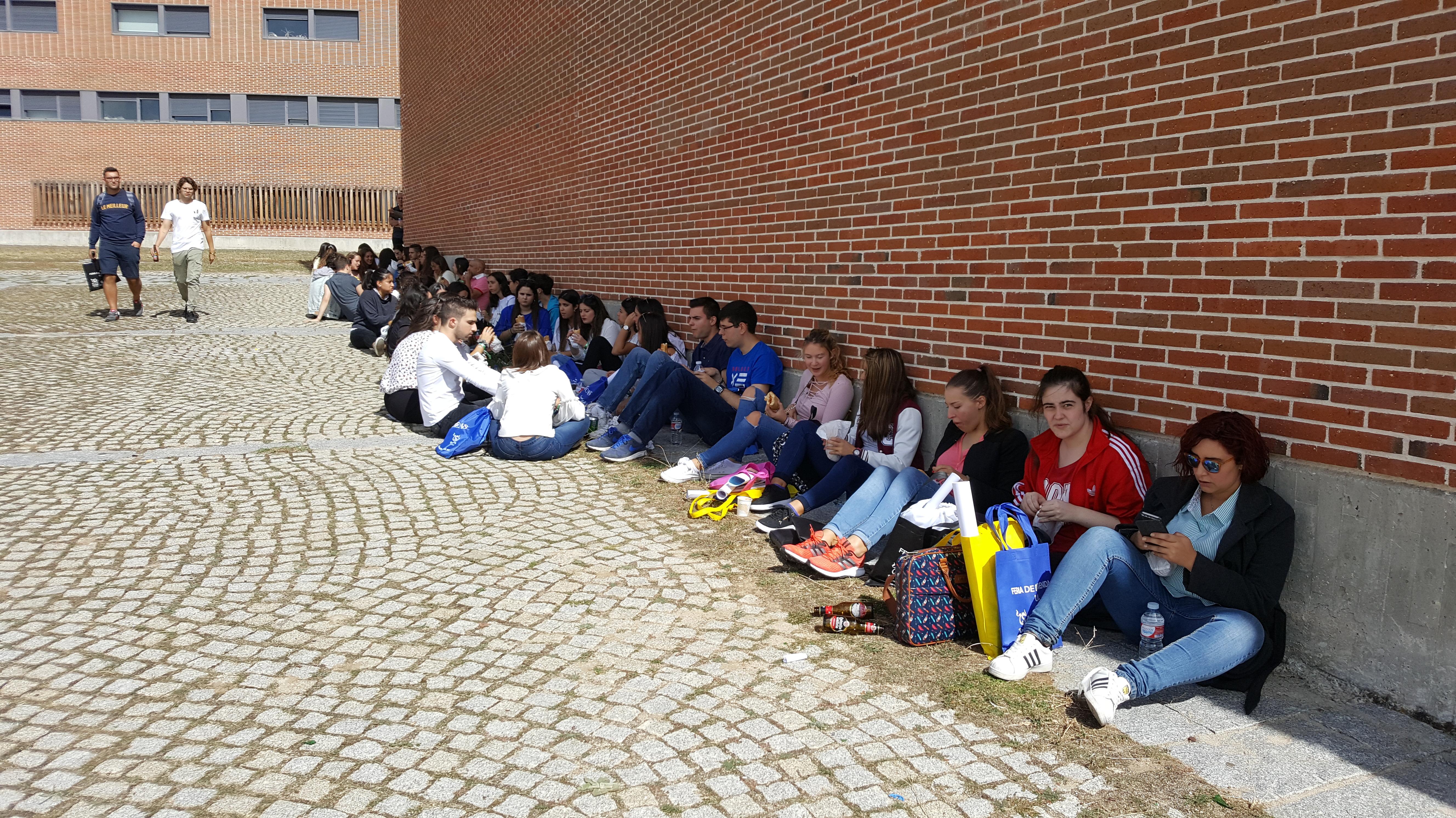 Gran participación en la Feria de Bienvenida del Campus de Ávila