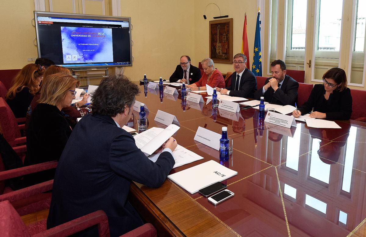Reunión Comisión Ejecutiva Octavo Centenario