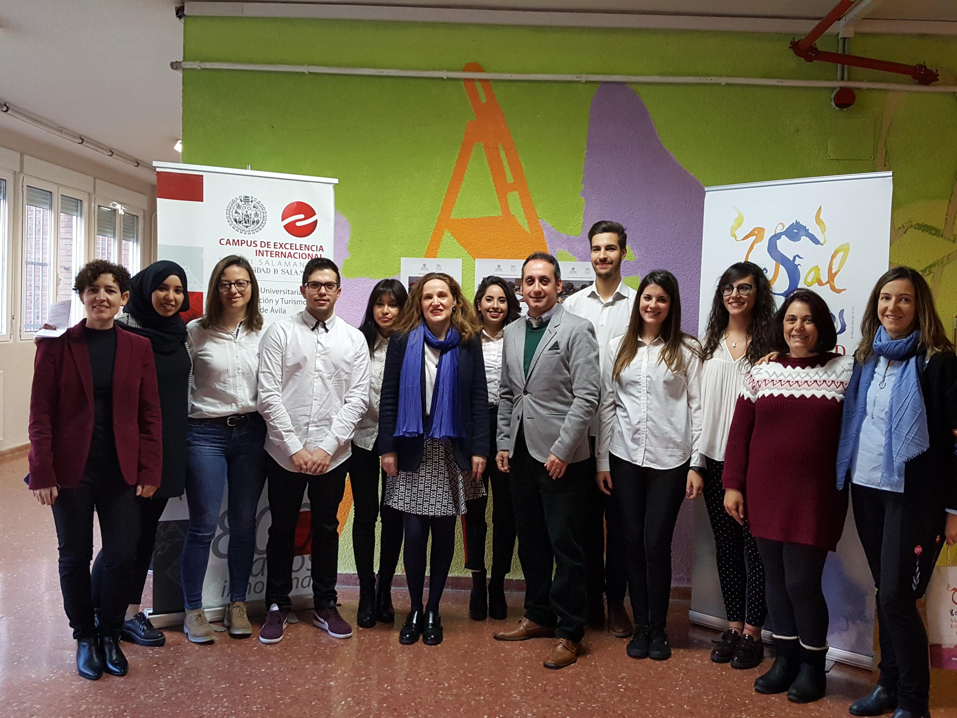 Rueda de prensa: El II Congreso Internacional de Investigación en Educación inicia sus sesiones en la Escuela de Educación de Ávila