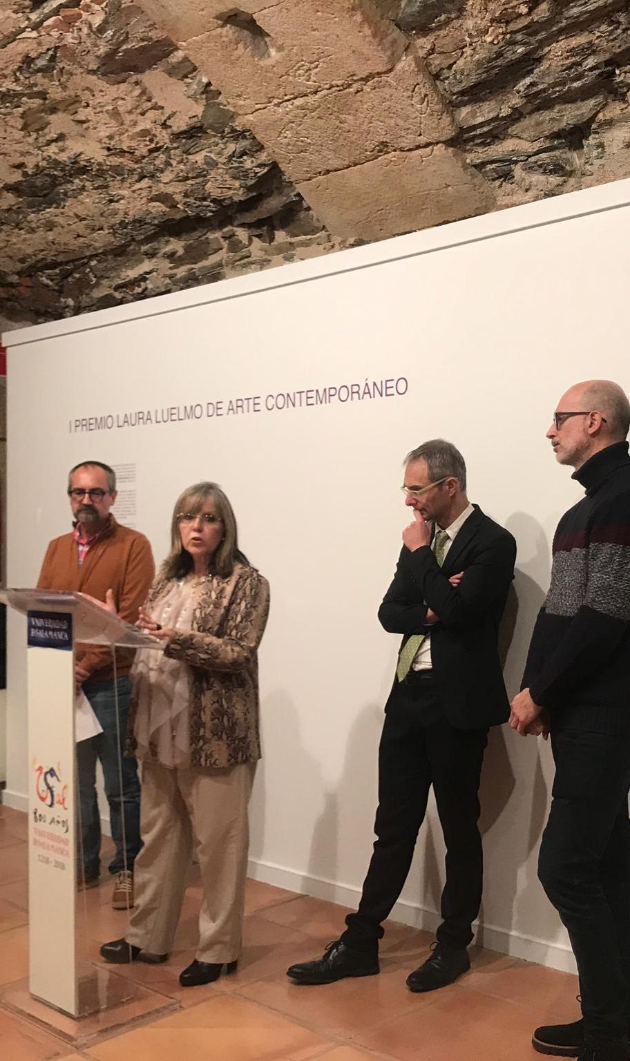 La Unidad de Igualdad entrega los galardones del 'I Premio Laura Luelmo de Arte Contemporáneo por la Igualdad de Género y contra la Violencia sobre la Mujer'